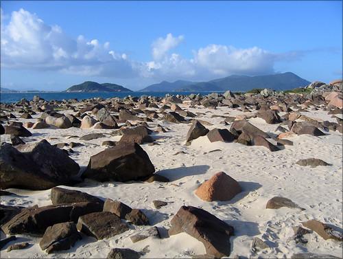 Ponta da Pinheira - Pedras
