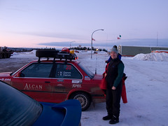 Renee of the North (TeamD Rally) Tags: winter highway rally day7 dempster alcan eagleplains teamd