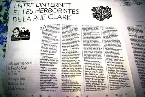 Chinois à Montréal - La Presse