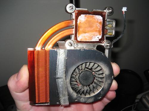Resultado de imagen de polvo en un laptop