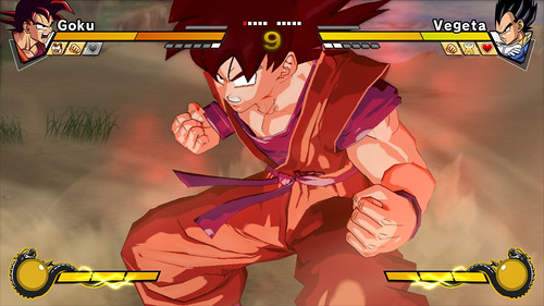 Dragon Ball Z Burst Limit Goku 3D