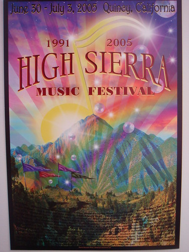15th Annual High Sierra Music Festival