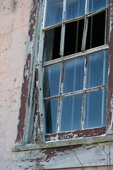 peeling window (Lydia_Billings) Tags: senecaarmydepot
