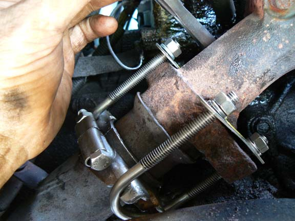 Y Pipe To Manifold Flange Fix The Ranger Station Forums