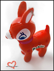 Petit Babie (Hailey Kitten) Tags: orange cute toy toys deer fawn kawaii keycharm petitbabie kawaiideerfigure