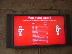 Informationsskrm Amsterdam (Aarhus Public Libraries) Tags: familier oba brn skiltning holland2008 brnogfamilier informationsskrm