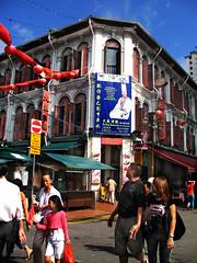 Smith Street, Chinatown  Singapore (williamcho) Tags: food tourism singapore chinatown chinese entertainment temples pubs bargains stalls