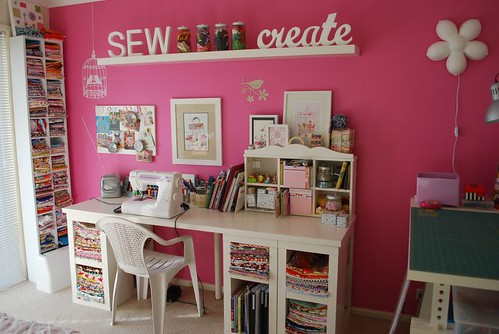 Sewing Room by chaletgirl13.