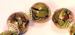green_necklace_bead (Katya Yo) Tags: handmade fimo beading jewerly polimerclay handmadejewely