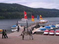 Boat rides on lake (Starry Designs) Tags: germany titisee
