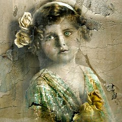 Mixed Media/Altered Art - Reworked Vintage Photo (collage a day) Tags: art collage mixedmedia digitalart montage alteredart vintagephoto alteredphoto artisticexpression