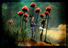 summer is dancing (AlicePopkorn) Tags: summer photoshop creativity dance digitalart textures fairy creativecommons chives manray themoulinrouge memoriesbook alicepopkorn
