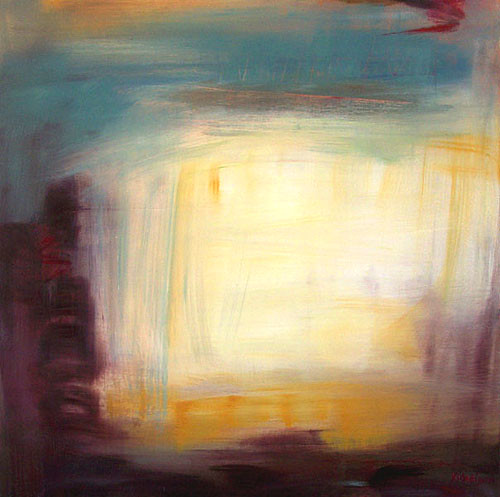 Abstract landscape by Xenia Madison
