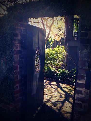 a semi-secret garden