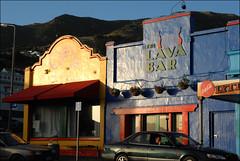 Robin Morrison Style (AndrewNZ) Tags: newzealand summer sunlight topv111 evening topv555 topv333 topv444 topv222 topv777 topv666 lyttleton lavabar inthestyleof volcanocafé robinmorrison