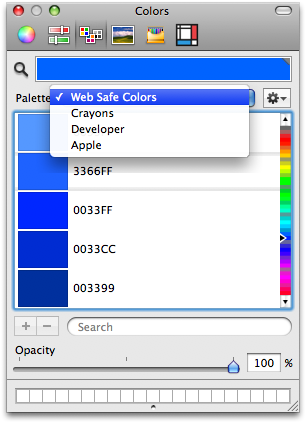 Setting Preview Colors Tool