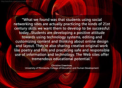 students and social networks