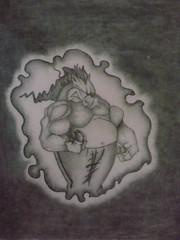dibujo_javali (spider_may23) Tags: lapiz dibujos dibujo javali