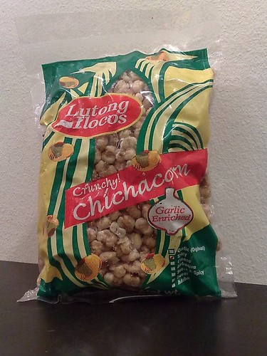 Lutong Ilocos Garlic Enriched Crunchy Chichacorn