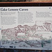 The history of Lake Lenore Caves