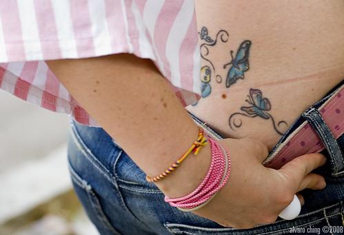 tattoo de mariposas. Quedada con los chicos de