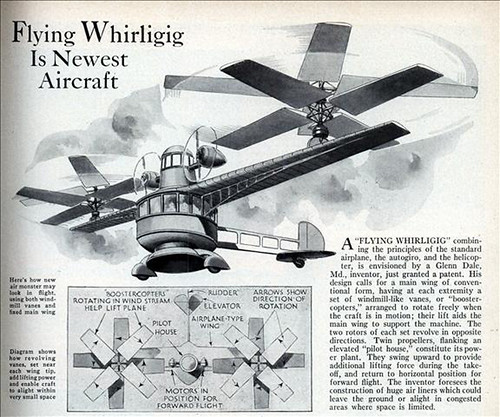 Flying Whirligig Is Newest Aircraft