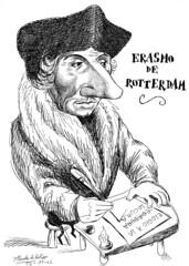 ERASMO de Rotterdam (Morales de los Ríos) Tags: writers caricaturas philosophers caricatures escritores filósofos