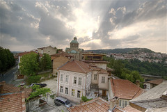Veliko Tarnovo (wili_hybrid) Tags: city trip travel summer vacation urban holiday landscape geotagged outside outdoors photo yahoo high nikon europe flickr european exterior dynamic photos outdoor picture july pic bulgaria journey wikipedia imaging summertime d200 mapping 2008 range geotag tone hdr hdri velikotarnovo velikoturnovo photomatix nikond200 tonemapped tonemapping highdynamicrangeimaging year2008