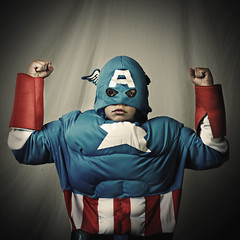 What's in it for me? (wiseacre photo) Tags: old boy portrait face square interestingness retro hero superhero strong mighty captainamerica