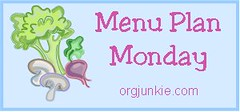 Menu Plan Monday Banner