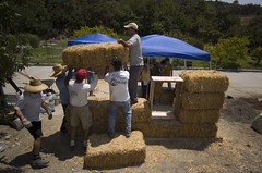 Straw Bale Home Insulation