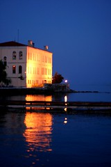 Sinop Library (Caucas') Tags: sea mer reflection azul night digital canon turkey eos rebel 50mm coast la landscapes library türkiye türkei mm 18 50 blacksea karadeniz ef turkije turquia turkish noire kafkas yansıma turkei sinop ef50mm18 kütüphane sinope xti freephotos sinuwa σινώπη