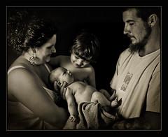 The Haven-Harlow Family (Morristowne) Tags: family ohio baby sepia nikon newborn d200 sb800 1755mm coronablck