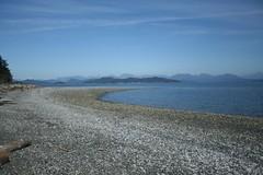 Quadra Island shoreline