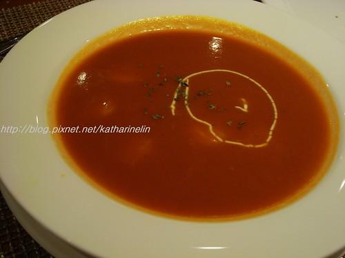 你拍攝的 9蕃茄湯。