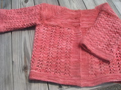 FLS; Malabrigo Worsted, Dusty Rose