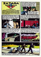 Action Comics #1, page 20 - the first page of the Zatara story by Gary Dunaier