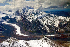Flightseeing Denali n.p. (b.campbell65) Tags: wonderfulworld alaskatreck wickershamswall