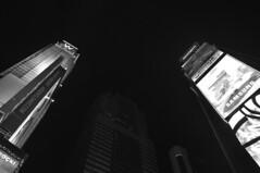 New York City (Surrealplaces) Tags: new york city newyorkcity urban blackandwhite bw white newyork black building calgary tower monochrome skyline brooklyn night skyscraper subway blackwhite office metro centralpark edificio condo alberta highrise gotham condominium wolkenkratzer arriva rascacielo gratteciel brookylnbridge