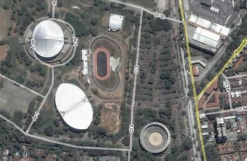 Plaza de Toros,Velódromo,Patinódromo. Cali-Valle