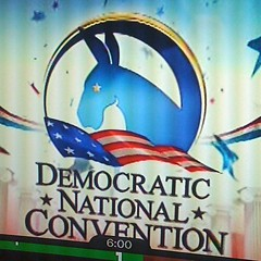 MSNBC'S Logo for the DNC (alist) Tags: logo media graphic press democrat obama msnbc alicerobison