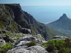 "Top of ""Tabletop"" 9 (TontonJon) Tags: africa urban mountain mountains nature landscape southafrica landscapes capetown panoramic coastal sprawl geologic tabletopmountain"