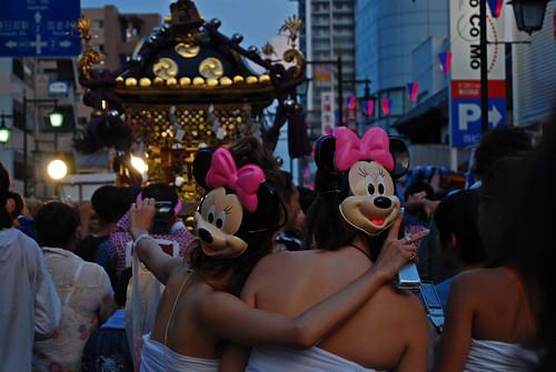 [春日部夏休み] Minnie Back Shots