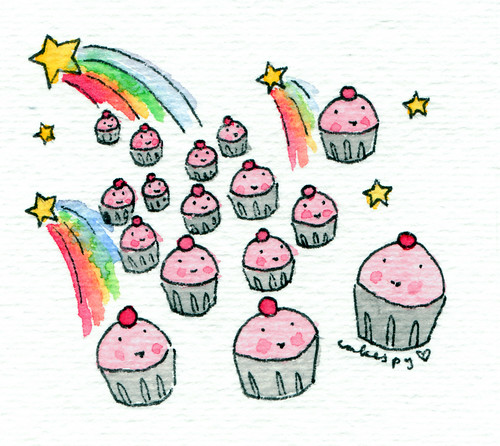 Cupcakes and Shooting Stars