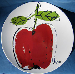 Vera apple. (Kultur*) Tags: apple retro 70s 1970s vera neumann mikasa seventieskulturvintage