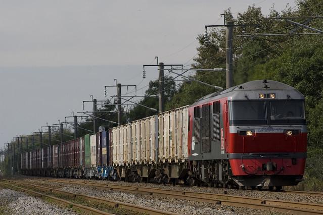 DF200 コンテナ貨物列車