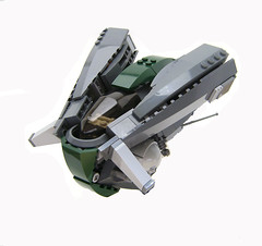 Danj (Hase0) Tags: anime green lego spaceship spacecraft cyberpunk
