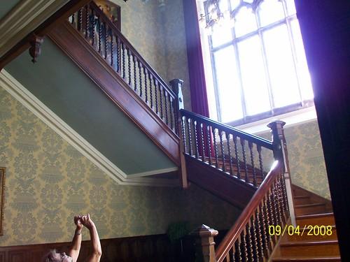 Ireland Kylemore Abbey - stairway