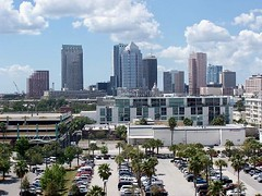 Tampa, Florida, Skyline (J. Stephen Conn) Tags: tampa florida hillsboroughcounty