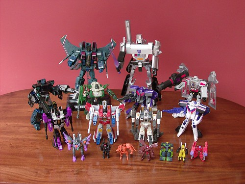 Transformers Decepticons Classics 2006-2007 + Masterpieces (14-Sep-2008)
